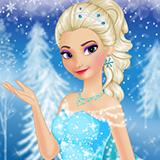Elsa's Frozen Makeup