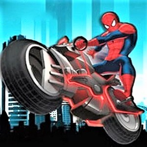 Spiderman Bike Game