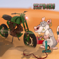Rat On A Dirt Bike