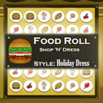 Food Roll Shop N Dress: Holiday Dress