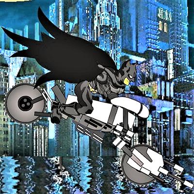 Batman In Gotham Bridge