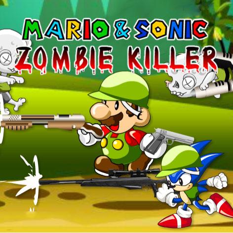 Mario Sonic Zombie Killer