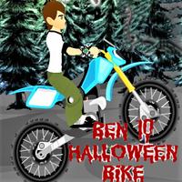 Ben 10 Halloween Bike