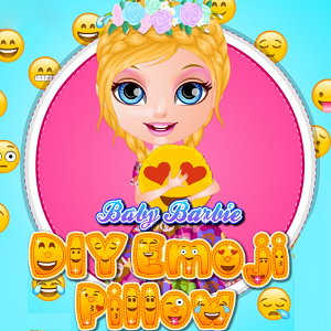 Baby Barbie DIY Emoji Pillow
