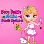 Baby Barbie Hobbies Beads Necklace