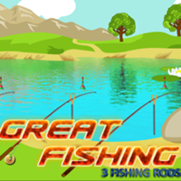Great Fishing:3 Fishing Rods
