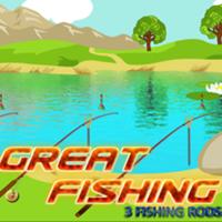 Great Fishing:3 Fishing Rods