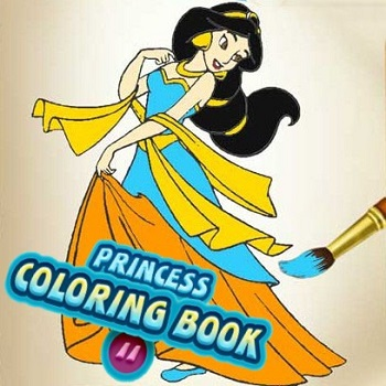 Princess Coloring Book 2