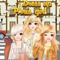 Dress Up Paris Girl
