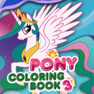 Pony Coloring Book 3