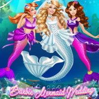 Barbie Mermaid Wedding
