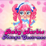 Baby Barbie Manga Costumes