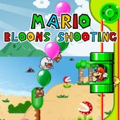 Mario Bloons Shooting