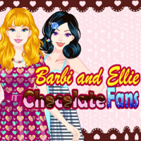 Barbie And Ellie Chocolate Fans