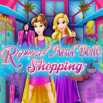 Rapunzel And Belle Shopping