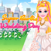 Super Barbie Wedding Day