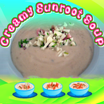 Creamy Sunroot Soup