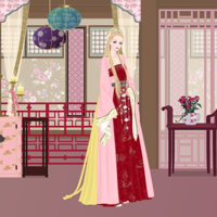 Korean Queen Dress Up