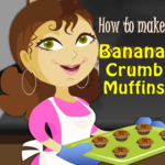 How to Make Banana Crumb Muffins