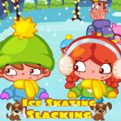 Ice Skating Slacking
