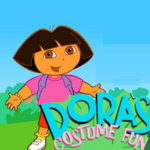 Dora's Costume Fun