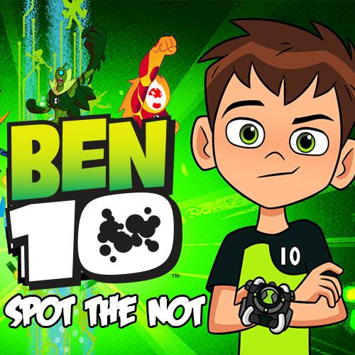 Ben 10 Spot The Not