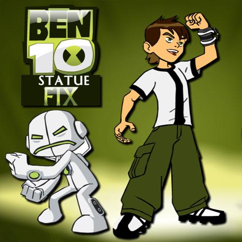 Ben 10 Statue Fix