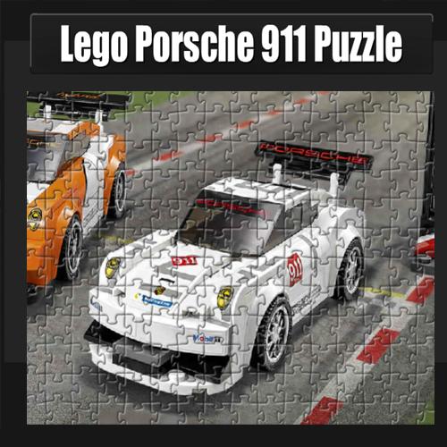 Lego: Porsche 911 Puzzle