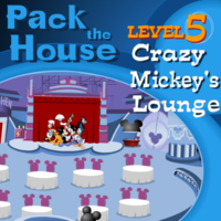 Pack the House Level 5: Mickey's Crazy Lounge