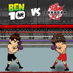 Ben 10 Vs Bakugan Fight