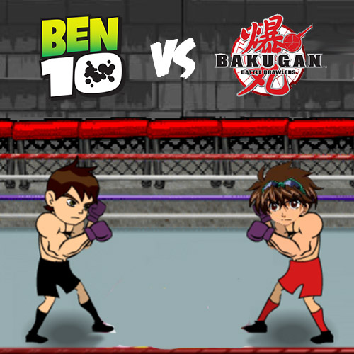 Ben 10 Vs Bakugan Fight