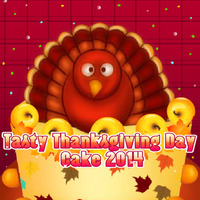 Tasty Thanksgiving Day Cake 2014