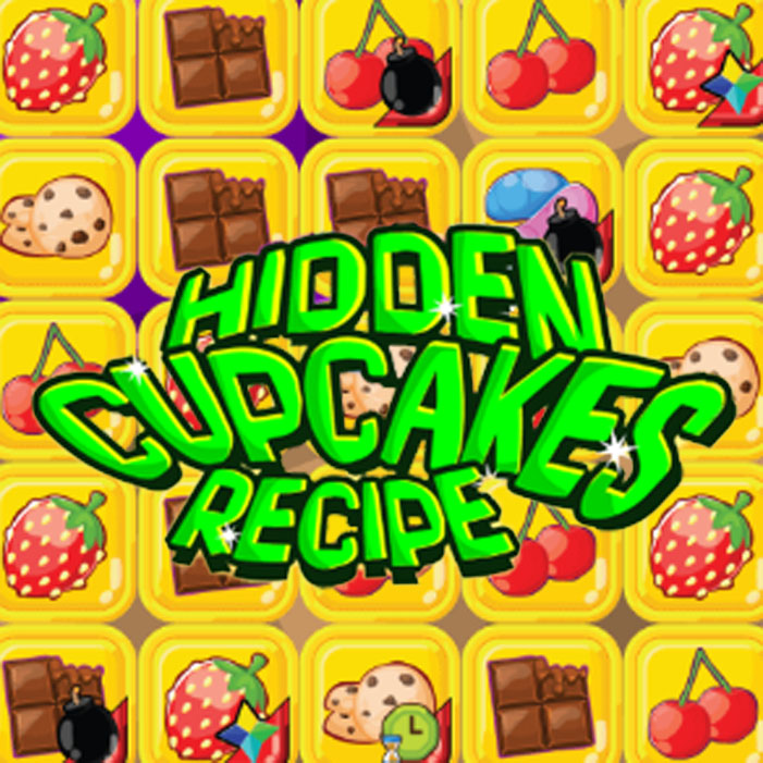 Hidden Cupcakes Recipe