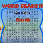 Word Search Gameplay 4: Cards