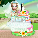 Elsa's Wedding Cake Cooking