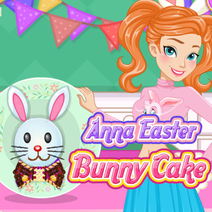 Anna: Easter Bunny Cake