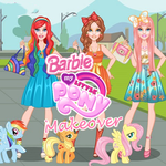 Barbie: My Little Pony Makeover