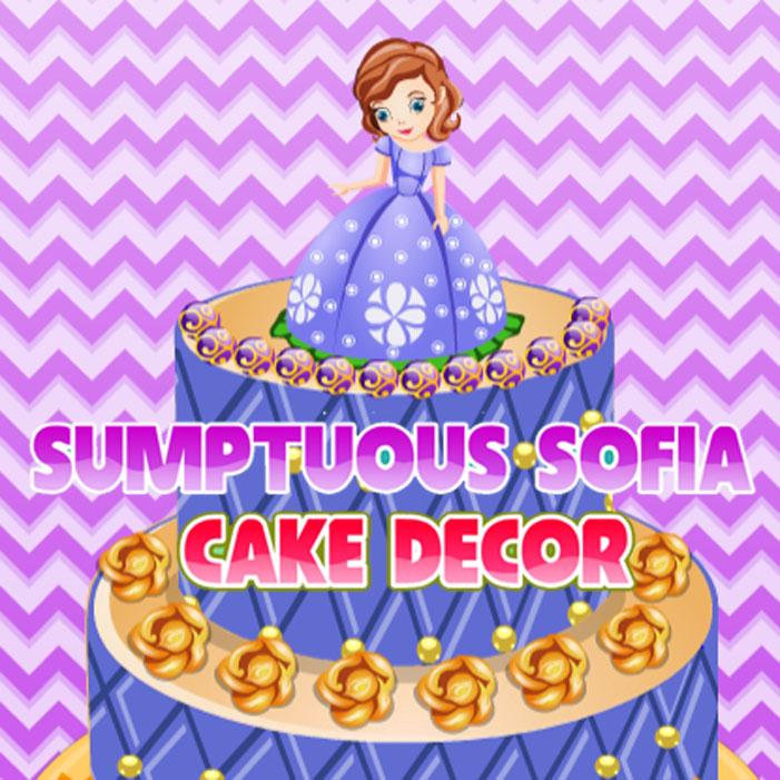 Sumptuous Sofia: Cake Decor