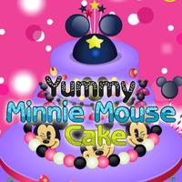 Yummy Minnie Mouse Cake