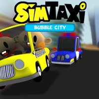 Sim Taxi: Bubble City