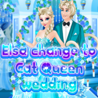 Elsa: Change to Cat Queen Wedding
