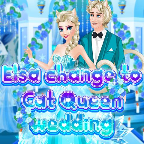 Elsa: Change to Cat Queen Wedding