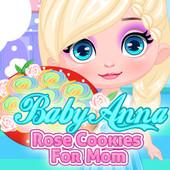 Baby Elsa: Rose Cookies For Mom