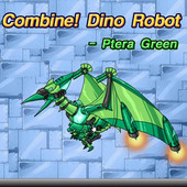 Combine! Dino Robot: Ptera Green