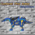 Combine! Dino Robot: Amargasaurus