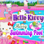 Hello Kitty: Messy Swimming Pool