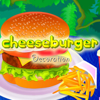 Cheeseburger Decoration
