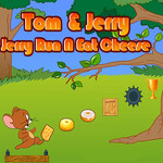 Tom&Jerry: Jerry Run N Eat Cheese