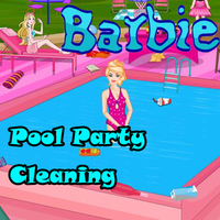 Barbie: Pool Party Cleaning