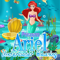 Princess Ariel: Underwater Cleaning